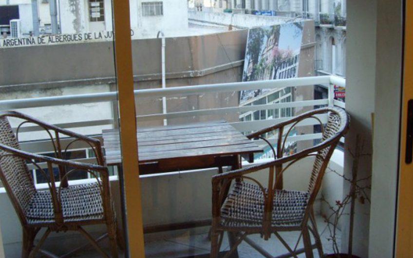 Congreso – 2 amb con balcon. Totalmente equipado.